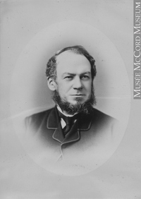 Original title:  Photograph John Burstall, Montreal, QC, 1880 Notman & Sandham 1880, 19th century Silver salts on paper mounted on paper - Albumen process 15 x 10 cm Purchase from Associated Screen News Ltd. II-58689.1 © McCord Museum Keywords:  male (26812) , Photograph (77678) , portrait (53878)