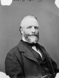 Titre original :  Hon. Donald Alexander MacDonald. Postmaster General, b. Feb. 17, 1817 - d. June 10, 1896.