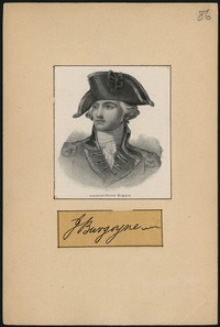 Original title:  Lietenant-General Burgoyne.