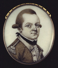Original title:  Colonel Christian Daniel Claus.