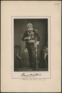 Original title:  Admiral Sir Provo William Perry Wallis.