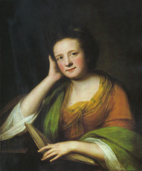 "Original title:    Description Portrait of an author, ""Frances Moore Brooke (1724-1789), c. 1771"", oil on canvas, 72,4 x 60 cm, Date 1771(1771) Source Ottawa, National Archives of Canada, 1981-88-1, reproduced at unites.uqam Author Catherine Read Permission (Reusing this file) Public domainPublic domainfalsefalse This media file is in the public domain in the United States. This applies to U.S. works where the copyright has expired, often because its first publication occurred prior to January 1, 1923. See this page for further explanation. Català 