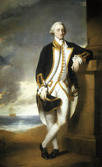 Original title:    Artist Attributed to George Dance the Younger (1741-1825) Title English: Portrait of Captain Hugh Palliser (1723-1796) Date before 1775(1775) Medium oil on canvas Dimensions 243.9 x 152.4 cm Current location English: National Maritime Museum Notes Copied from an original three-quarter-length portrait by w:Nathaniel Dance-Holland Source/Photographer http://www.nmm.ac.uk/mag/pages/mnuExplore/PaintingDetail.cfm?ID=BHC2928  This is a faithful photographic reproduction of an original two-dimensional work of art. The work of art itself is in the public domain for the following reason: Public domainPublic domainfalsefalse This image (or other media file) is in the public domain because its copyright has expired. This applies to Australia, the European Union and those countries with a copyright term of life of the author plus 70 years. You must also include a United States public domain