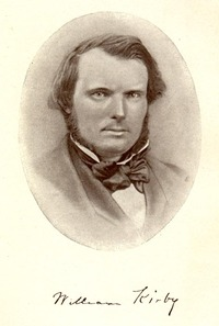 Titre original :    Description Photograph of William Kirby, with his signature, ca 1865. Date circa 1865(1865) Source From Kirby, William. Le Chien d'or, 2nd ed., Québec : Librairie Garneau, 1926, tome 1, frontispiece - Web source Author Unknown