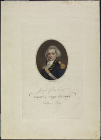 Titre original :  Joseph Colen Esq., Chief of York Factory, Hudson's Bay.