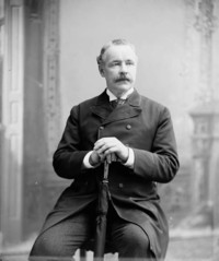 Titre original :  Hon. John Costigan, M.P. (Victoria, N.B.) (Minister of Inland Revenue) b. Feb. 1, 1835 - d. Sept. 29, 1916.