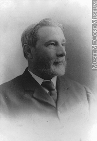 Original title:  Photograph Alexander Henderson, photographer, Montreal, QC, 1897 Wm. Notman & Son 1897, 19th century Silver salts on glass - Gelatin dry plate process 17 x 12 cm Purchase from Associated Screen News Ltd. II-122466 © McCord Museum Keywords:  male (26812) , Photograph (77678) , portrait (53878)