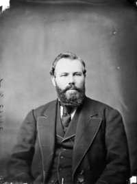 Original title:  Hon. Simon Hugh Holmes, (Premier of Nova Scotia) b. July 30, 1831 - d. Oct. 14, 1919.