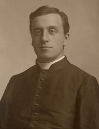 Original title:    Description Stanislas-Alfred Lortie, Roman Catholic priest, professor, and author Date c.1900 Source This image is available from the Bibliothèque et Archives nationales du Québec under the reference