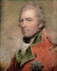 Original title:    Description English: Charles Lennox, 4th Duke of Richmond and Lennox KG, in scarlet coat with green facings and gold epaulettes, wearing the breast-star of the Order of the Garter, signed and dated 'Copied by H Collen 1823', Date 1823(1823) Source http://www.christies.com/LotFinder/lot_details.aspx?intObjectID=4947788 Author Henry Collen (1797–1879) after Henry Hopp