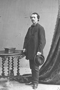 Original title:  Photograph William Raphael, artist, Montreal, QC, 1862 William Notman (1826-1891) 1862, 19th century Silver salts on glass - Wet collodion process 12 x 10 cm Purchase from Associated Screen News Ltd. I-2362 © McCord Museum Keywords:  Photograph (77678)
