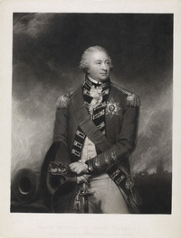 Titre original :  Major General Sir Alured Clarke, K. B., Promoted to the Rank of Field Marshal in 1830.