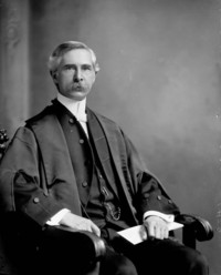 Original title:  Hon. Robert Franklin Sutherland, M.P. (Essex, Ont.) (Speaker of the House of Commons) b. Apr. 5, 1859 - d. May 23, 1922.