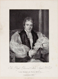 Original title:  The Right Reverend John Inglis, Lord Bishop of Nova Scotia.