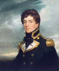 Titre original :    Description Frederick William Beechey, portrait by George Duncan Beechey, painted circa 1822. Date 2005-03-13 (original upload date) Source Originally from en.wikipedia; description page is/was here. Maritime Art, Greenwich Author Original uploader was DO'Neil at en.wikipedia Permission (Reusing this file) PD-ART.