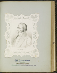Original title:  Portrait of Dr. Jean Blanchet.