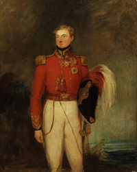"Titre original :    Description Sir James Macdonell, by William Salter (died 1875). See source website for additional information. This set of images was gathered by User:Dcoetzee from the National Portrait Gallery, London website using a special tool. All images in this batch have been confirmed as author died before 1939 according to the official death date listed by the NPG. Date Unknown, but author died in 1875 Source National Portrait Gallery, London: NPG 3735   While Commons policy accepts the use of this media, one or more third parties have made copyright claims against Wikimedia Commons in relation to the work from which this is sourced or a purely mechanical reproduction thereof. This may be due to recognition of the ""sweat of the brow"" doctrine, allowing works to be eligible for protection through skill and labour, and not purely by originality as is the case in the United States (where"
