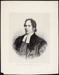 Original title:  Reverend Robert McGill.
