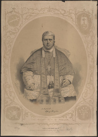 Original title:  The Right Rev. Dr. Phelan, R.C. Bishop of Kingston C.W. 1857.
