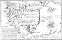 Original title:  Newfovnd Land [cartographic material] / described by Captaine John Mason. -- Mason, John, 1586-1635