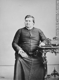 Original title:  I-11098.1 | Reverend A. Labelle, Montreal, QC, 1864 | Photograph | William Notman (1826-1891)