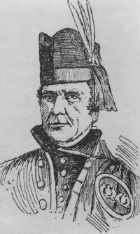 Original title:  Archibald McNab, 17th Chief of Clan Macnab / Archibald McNab, 17e chef du clan Macnab