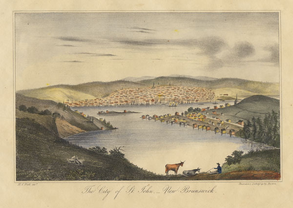 Titre original :  City of Saint John, N.B.