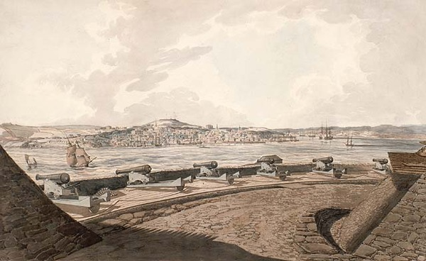 Titre original :  View of Halifax from George's Island.