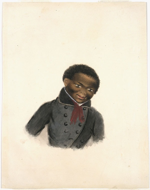 Titre original :  Unidentified Portrait of an African-Canadian Boy.