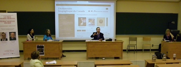 DCB/DBC participates in 2013 conference of francophone organization