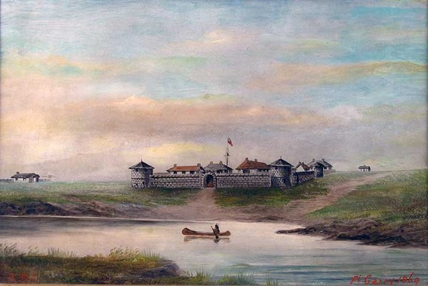 Original title:  The Metis and the Red River Settlement