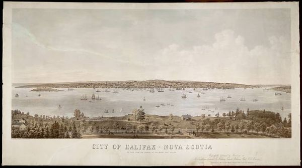Titre original :  City of Halifax, Nova Scotia. 1865  Archives Search - Library and Archives Canada: Scotia Halifax, Archives Search, Nova Scotia, Archives Canada, Canadian History, 1865 Archives, Historical Places