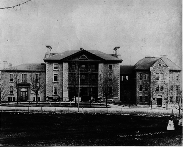 Original title:  The first Parliament in Canada, Kingston General Hospital