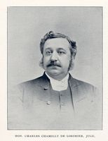 LORIMIER, CHARLES-CHAMILLY DE
